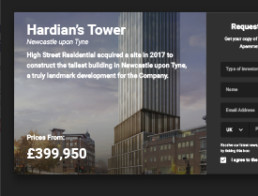 Hardian's Tower Banner